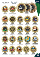 Eco Scroll medals